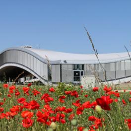 RLC vue extérieure jour, EPFL, Alain Herzog