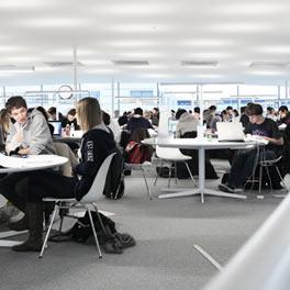 RLC intérieur bibliothèque, EPFL,  Alain Herzog