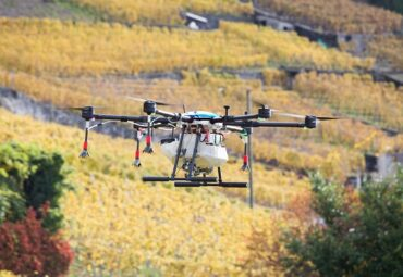 Aero41 drone used for crop protection in Switzerland