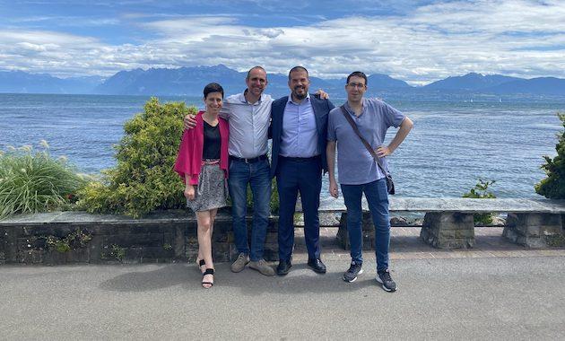 Chemlys team in Yverdon-les-Bains